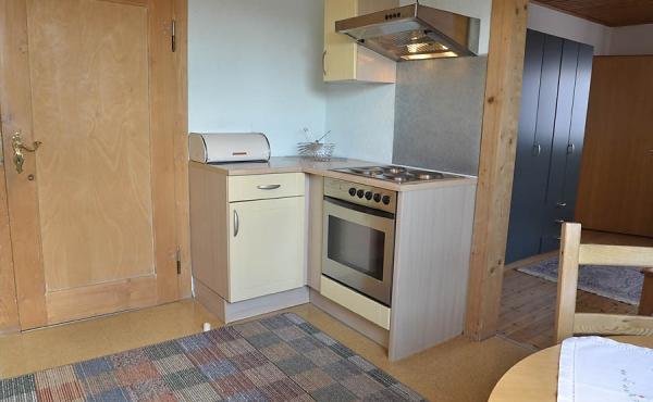 Küche mit E Herd, Ferienwohnung Haus am Weinberg, Mußbach - Neustadt / Weinstr. (Pfalz)