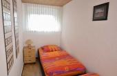 Kleines Nebenschlafzimmer mit zwei zusätzlichen Betten - Fewo Siebenpfeiffer, Neustadt / Weinstr.