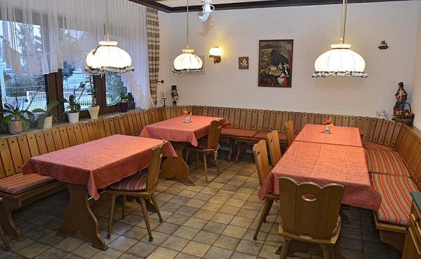 Frühstücksraum - Gästehaus Ehmer an der Weinstraßenmitte, Weindorf Diedesfeld, Neustadt an der Weinstraße (Pfalz)