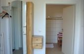 Garderobe + Eingang zum Bad, Ferienwohnung Rebstöckel - Weingut / Gästehaus Glas, Neustadt / Weinstr. (Pfalz)