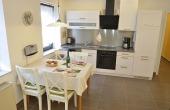 Essbereich und Küche - Fewo Kerner, Ferienhaus Winzerhof