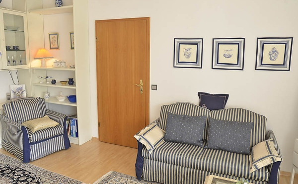 Gemütlicher Wohn- / Schlafbereich - Apartment 1, Haus Panoramablick, Weindorf Haardt, Neustadt / Weinstr. (Pfalz)