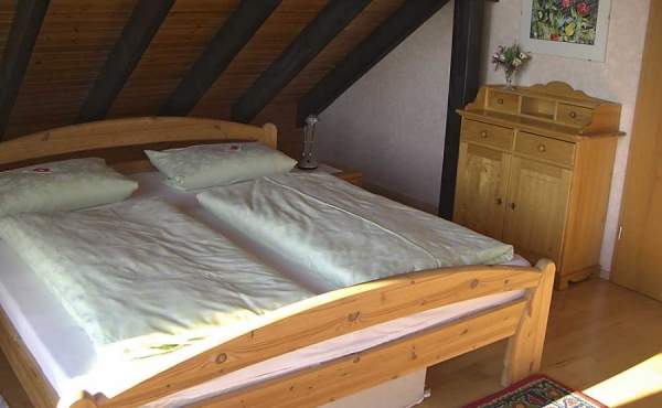 Schlafbereich - Ferienwohnung Haus Schlossblick, Neustadt / Weinstr., Weindorf Gimmeldingen