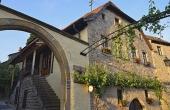Außenansicht des Ferienhauses mit drei Ferienwohnungen - Ferienwohnung Biengarten, Weingut Thomas Steigelmann, Gimmeldingen (Pfalz), Neustadt / Weinstr.