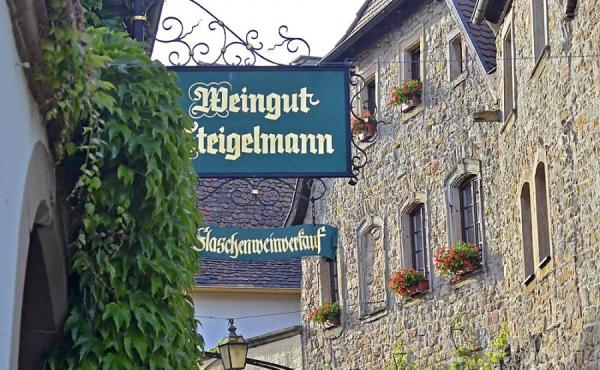 Das Gästehaus Meerspinne ist nur wenige Schritte vom Weingut entfernt - Weingut Thomas Steigelmann, Gimmeldingen (Pfalz), Neustadt / Weinstr.
