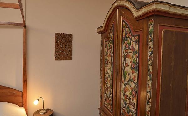 Schlafzimmer - Ferienwohnung Kastanienbusch, Haus Mandelblüte, Weindorf Gimmeldingen, Neustadt / Weinstr. (Pfalz)