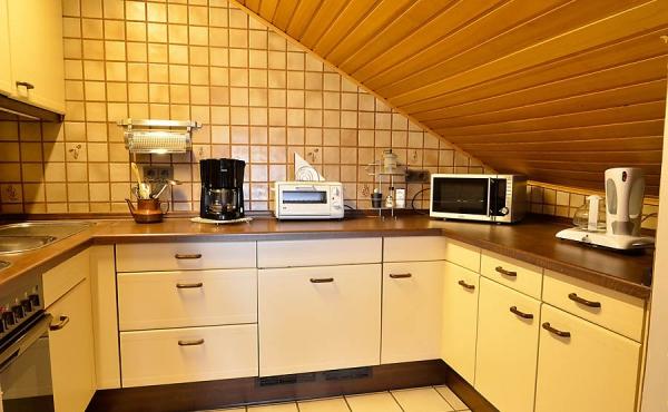 Komplett ausgestattete Küche - Ferienwohnung Haus Rebland, Weindorf Gimmeldingen / Königsbach, Neustadt / Weinstr. (Pfalz)