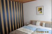 Schlafzimmer mit Doppelbett - Ferienwohnung im EG, Haus Storck, Weindorf Gimmeldingen, Neustadt / Weinstr. (Pfalz)