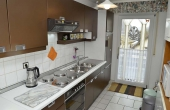 Küche, vollständig eingerichtet - Ferienwohnung Haus unter der Burg, Gimmeldingen (Pfalz)