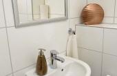 2. Bad mit WC - Ferienwohnung Ambiente, Hof Rebenblüte, Weindorf Gimmeldingen, Neustadt / Weinstr. (Pfalz)